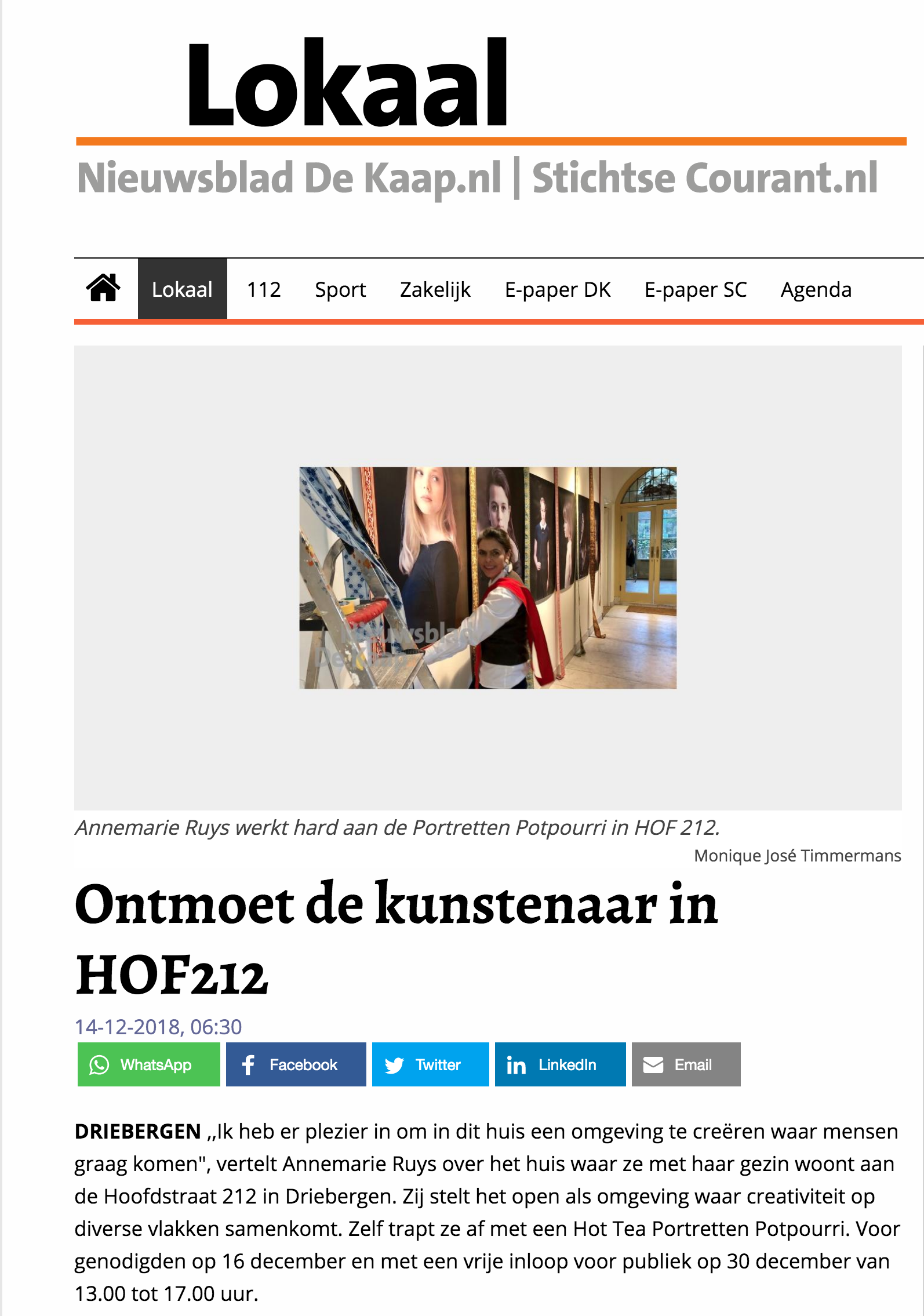 HOF212_lokaal_nieuwsblad_dekaap
